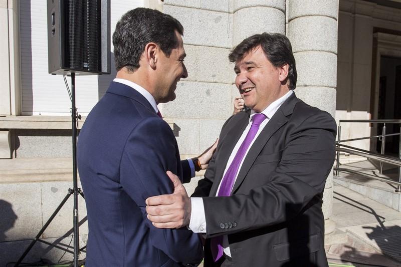 cbed04226ffd1 El presidente de la Junta califica Huelva como una de las provincias ...